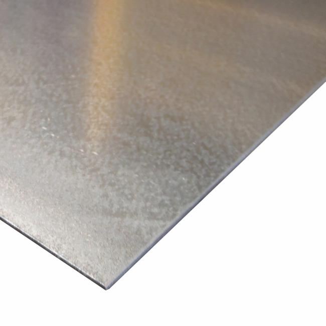 revendeur f6c51 2373e Tôle électrozinguée épaisseur 2 mm - Bricofer