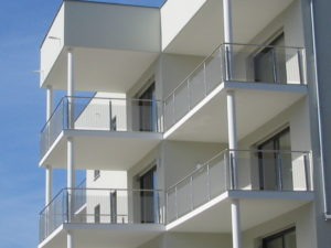 Garde corps pour projets immobilier immeubles