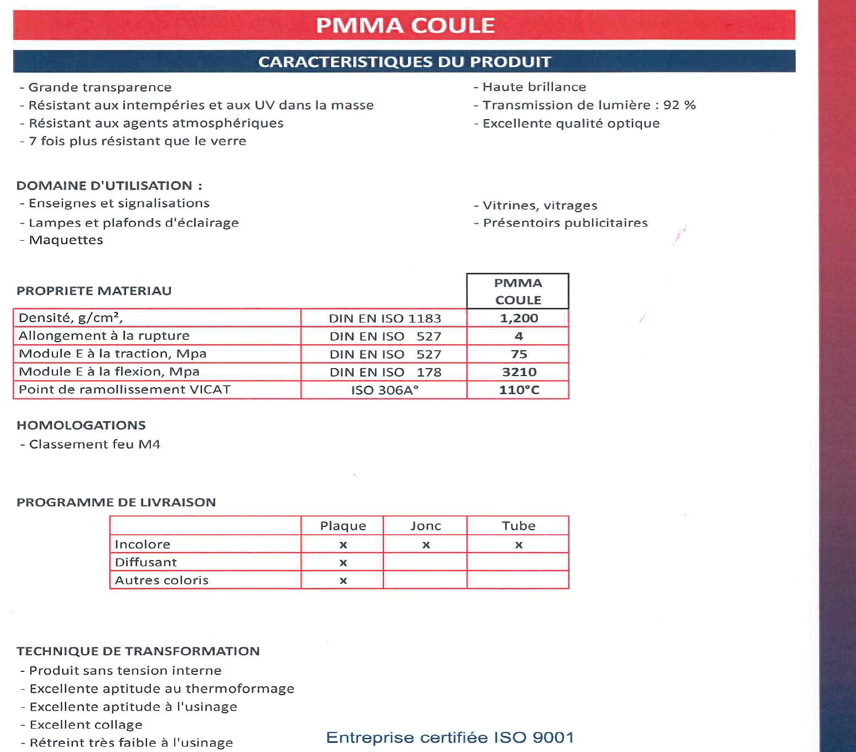 1. PMMA COULE