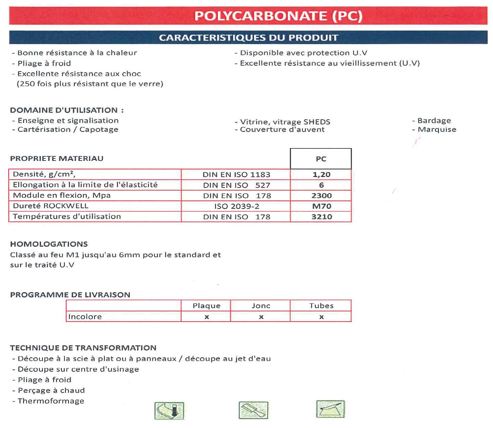 4. PolyCarbonate PC