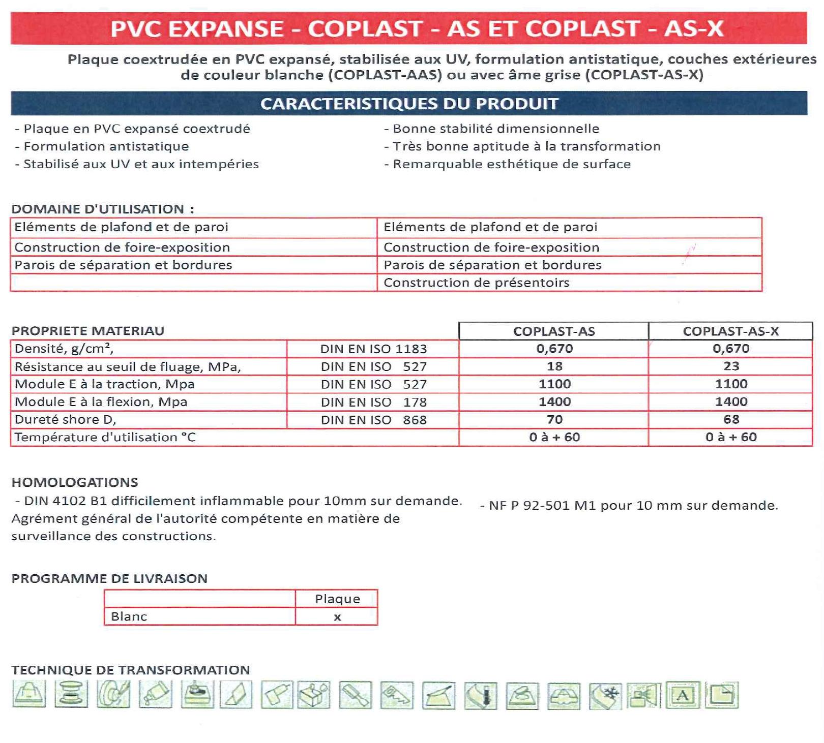 9. PVC EXPANSE COPLAST
